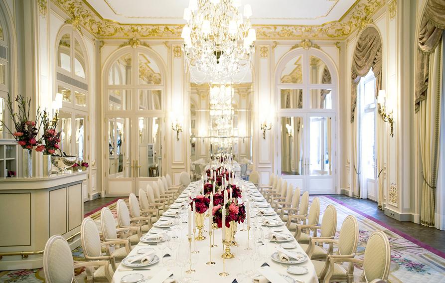 Salons De Réception Hôtel Ritz Paris 5 étoiles