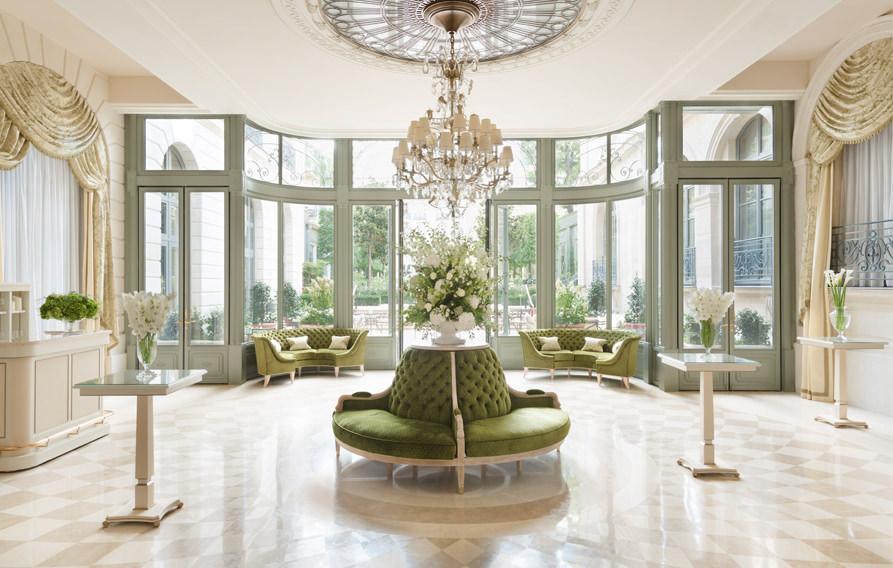 Espacios de recepción - Hotel Ritz París 5 estrellas