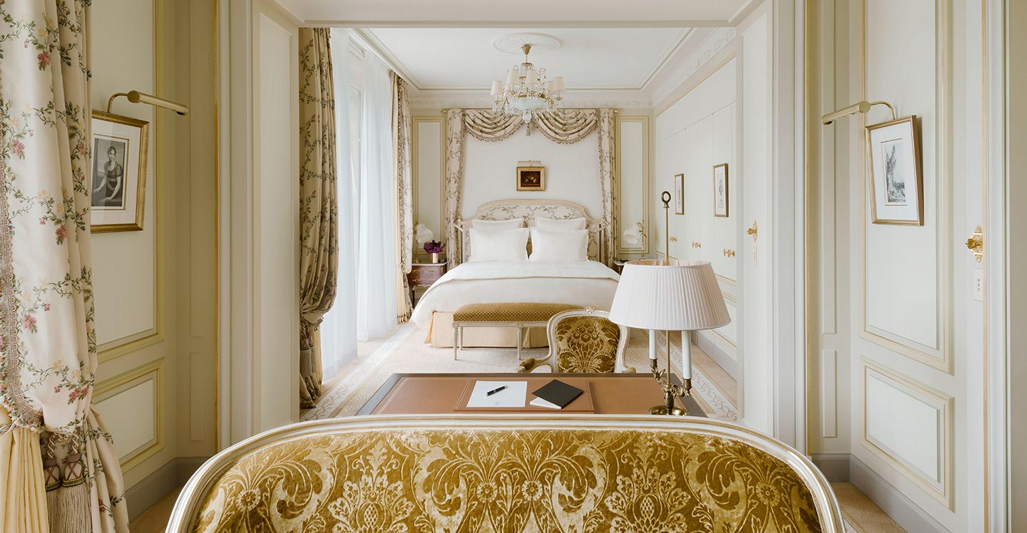 Chambre Grand Deluxe H 244 Tel Ritz Paris 5 233 Toiles