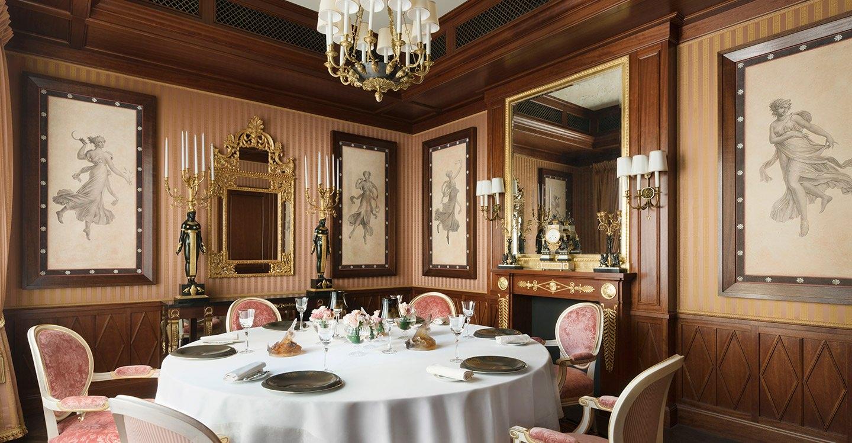 Salon auguste escoffier h tel ritz paris 5 stars for Pareti salone