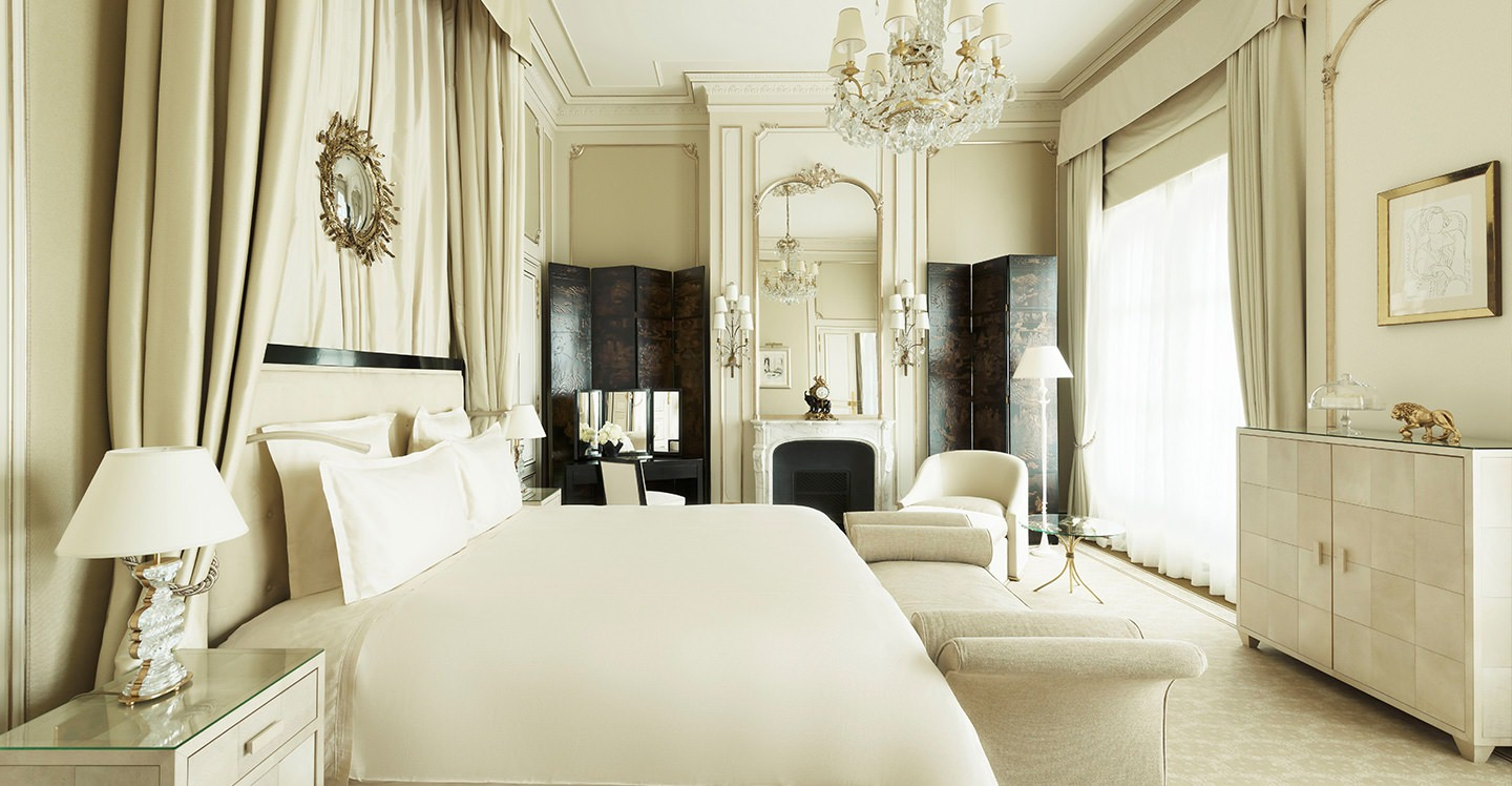 coco chanel suite - hôtel ritz paris 5 stars