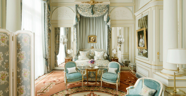 Chambres et suites de luxe h tel ritz paris 5 toiles for Hotel design original paris