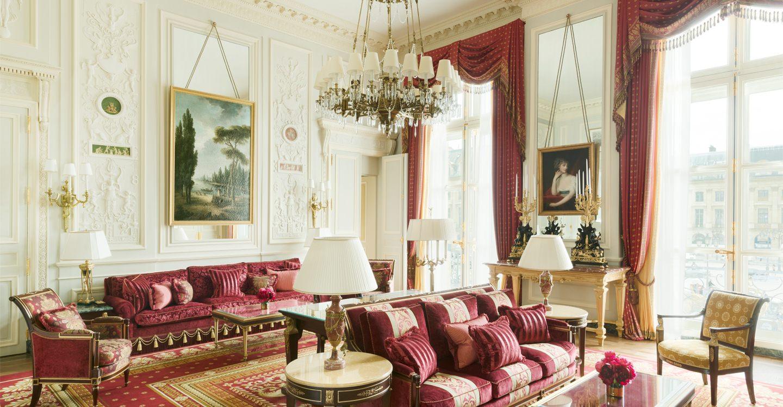 Imperial suite h tel ritz paris 5 stars for Salon de paris