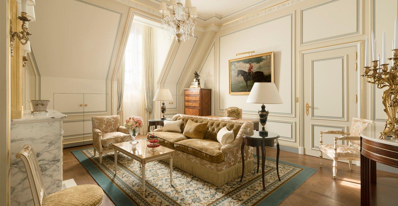 Prince De Galles Suite H 244 Tel Ritz Paris 5 Stars