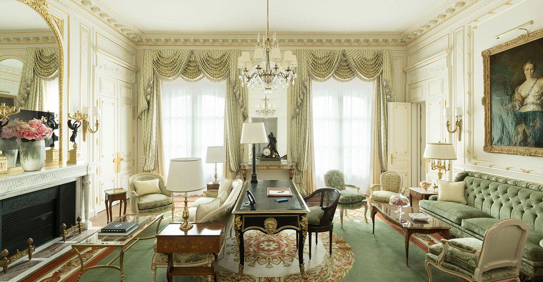 Chambres Et Suites De Luxe H Tel Ritz Paris 5 Toiles