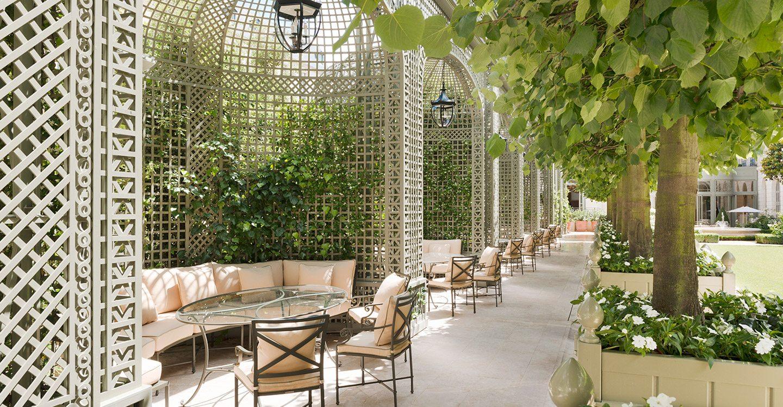 Exquisite venues unique in paris h tel ritz paris 5 stars for Paris restaurant jardin